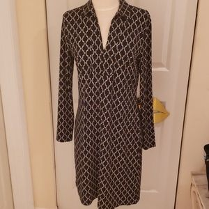 346 Brooks Brothers Print Dress in size small